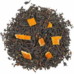 Schwarztee Orange mit Schale natürlich, loser Tee