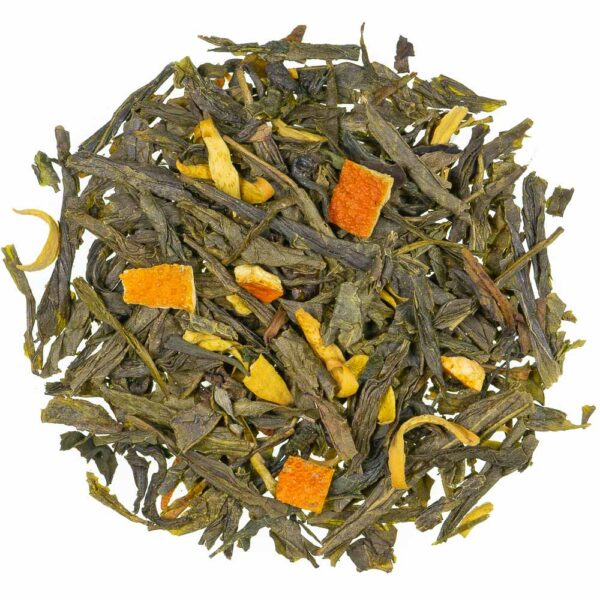 Grüntee Orangenblüte natürlich, loser Tee