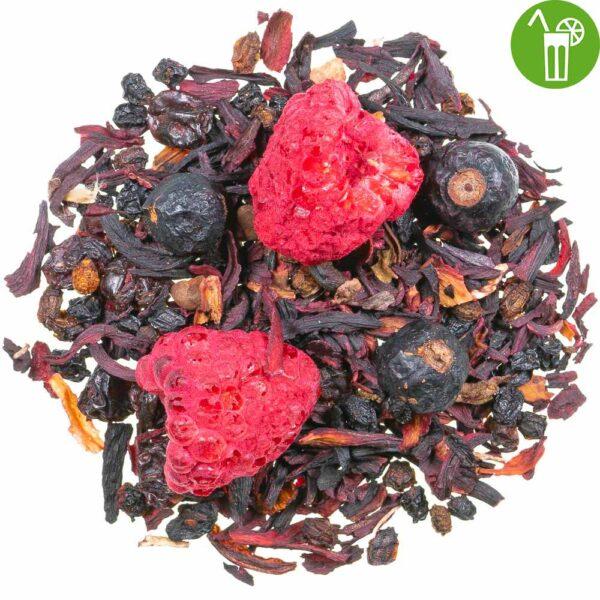 Früchtetee Rote Grütze, loser Tee