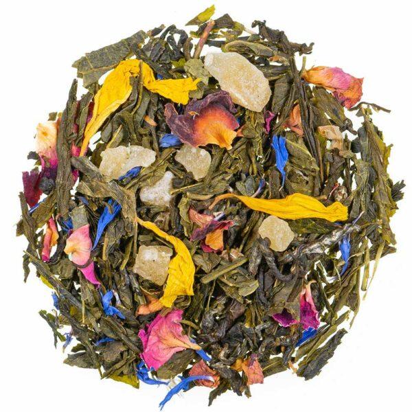 Grüntee Traum der Karibik, loser Tee