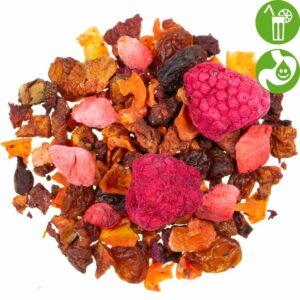 Früchtee Bio Beerenkuss, loser Tee
