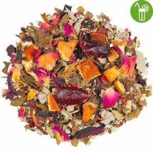 Kräutertee Immunstark mit Zink und Vitamin C natürlich, loser Tee